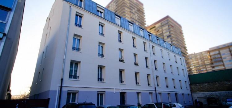 ravalement rue des pavillons puteaux