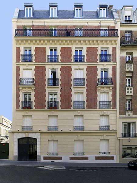 Les particularit des immeuble en brique for Combien coute un ravalement de facade immeuble